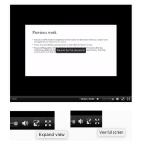 Webex Video Controls